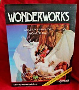 Wonderworks: Science Fiction & Fantasy Art by Michael Whelan 1979 PB