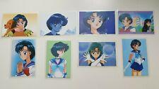 Rare Sailor Moon lami cards laminated lot of 8 Mercury Ami Japan Movic