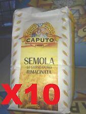 SEMOLA DI GRANO DURO RIMACINATA 10 KG farina caputo IMPASTARE AL 50% CON FARINA