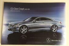 Mercedes . CL Class . CL Class Coupe Price List . June 2011 Sales Brochure
