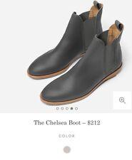 Everlane Chelsea Boot Gray 8 Brand New