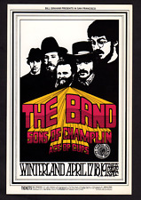 The Band & Sons of Champlin - 1969 original postcard