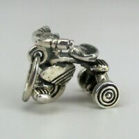 Sterling Silver TRICYCLE Charm for Bracelet NECKLACE  Pendant VINTAGE  Gift CUTE