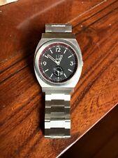 RARE Auth Dunhill SS 8034 RPM Sub Second Swiss Quartz Men's Watch Signed 4X Nice
