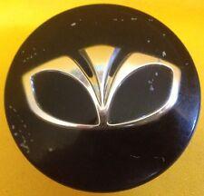1 Daewoo Matiz Black Center Hub Wheel Cap 96452238 2000 2001 2002 2003 2004 2005