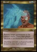 4x Recoil MTG Invasion NM Magic Regular