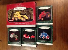 Lot 5 Murray Tractor Trailer Antique Tractors Tonka - Hallmark Keepsake Ornament