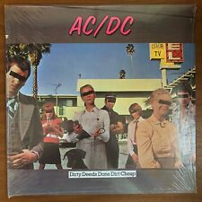 "AC/DC ""Dirty Deeds Done Dirt Cheap"" SEALED ORIGINAL 1976 1st US PRESS LP"