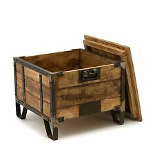 TRUNK/END TABLE**HAND MADE**THE BENNETT**FROM THE BARRELL SHACK**RETAIL $3260