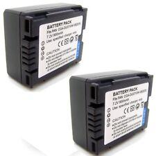 2x Battery for Panasonic PV-GS34 PV-GS35 PV-GS36 PV-GS39 PV-GS50 PV-GS55 PV-GS59