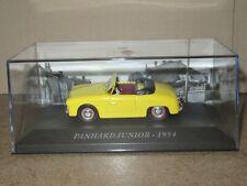 968p ixo 85 panhard dyna junior 1954 roadster yellow 1:43 new + box