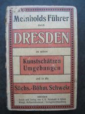 Meinholds Führer Dresden mit seinen Kunstschätzen seinen Umgebungen Schäfer