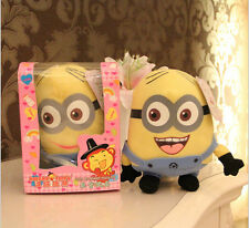 Despicable Me minion 18cm Recording doll Cute  plush Christmas Gift one only