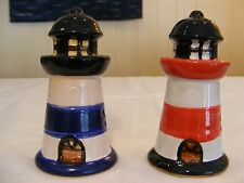 Nauticle Lighthouse Salt / Pepper Shakers