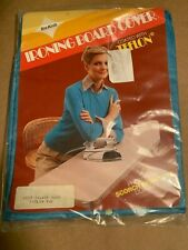 Vintage Awesome Silver Blue Teflon Tex-Knit Ironing Board Cover Brand New