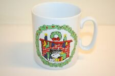 Snoopy Christmas Wreath/Fireplace Mug Another Determined Production