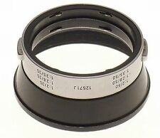 LEICA SUMMICRON 2/50 LENS HOOD SHADE 12571J 2/35 CLEAN 2.8/35 SNAP ON 2.8/50mm