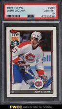 1991 Topps Hockey John LeClair ROOKIE RC #209 PSA 10 GEM MINT
