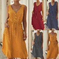 Summer Floral Dress Short Sleeve Casual Maxi Dresses Womens Cocktail Sundress