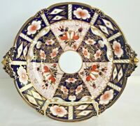 ROYAL CROWN DERBY 2415 TRADITIONAL IMARI SOUP TUREEN UNDER PLATE - CIRCA 1940