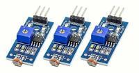 3 Stück Licht Sensor Fotosensor LM393 für Arduino Raspberry Pi Beispiel-Sketch