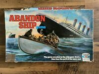 ABANDON SHIP / TITANIC BOARD GAME Ideal Spare Replacement Parts Pieces Vintage
