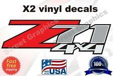 Z71 decals 4x4 Stickers 2007 2008 2009 2010 2011 2012 2013 Chevy GMC - F