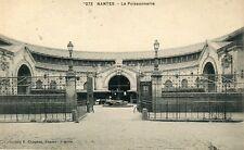 France Nantes - La Poissonnerie Fish Market old postcard