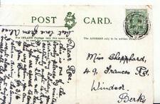 Genealogy Postcard - Shephard - Francis Road - Windsor - Berkshire - Ref 3496A