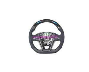 Carbon fiber LED steering wheel For Nissan Qashqai Teana Altima Murano Sylphy