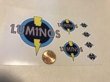 Custom Superhero Decals LUMINOS Die Cut. Free Shipping!