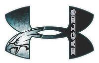 Under Armour Philadelphia Eagles Football Truck/Window Decal Sticker-Set of 3.