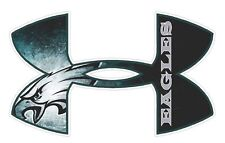 Under Armour Philadelphia Eagles Football Truck/Window Decal Sticker-Set of 3.