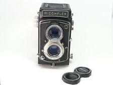 【EXC+++】Ricoh RICOHFLEX TLR Camera w/ Riken Riconar 8cm 80mm f3.5 from JAPAN