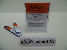 Johnson Litmus Blue Indicator Test Paper 10 Books 200 Strips
