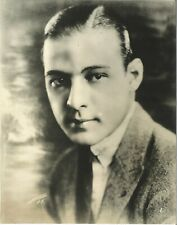 RUDOLPH VALENTINO Vintage 7.25 x 9.25 Double-Wt Portrait Jack Stigall Collection