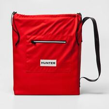 NEW - HUNTER FOR TARGET REVERSIBLE OUTDOOR BLANKET WITH CARRY BAG 4 STAKES - RED