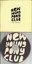 Nypc NEW YOUNG PONY CLUB Ice Cream 4TRX EXTENDED & REMIXES PROMO DJ CD single