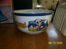 New listing Vintage Disney Catalog Mickey Mouse Halloween Trick or Treat Candy Bowl