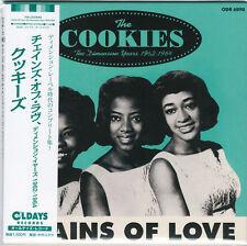 COOKIES-CHAINS OF LOVE. THE DIMENSION...-JAPAN MINI LP CD BONUS TRACK C94