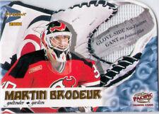 2000-01 McDonald's BRODEUR Glove Side Net Fusions #4 Devils Pacific Prism MARTIN