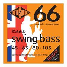 ROTOSOUND RS66LD SWING BASS CORDIERA PER BASSO ELETTRICO 4 CORDE