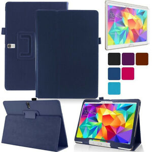 "Magnetic Stand Leather Case Bumper Cover For Samsung GALAXY Tab 4 7"" 8"" 10.1"""