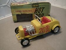Vintage Toy Hot Rod Friction Powered. Lincoln Brand