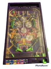 Mighty Morphin Power Rangers Electronic Talking Pinball Game - Parts Or Repair