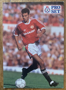 Ryan Giggs Rookie Card Pro Set Manchester United Ex Cond Player 1991 Trade Card