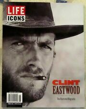 LIFE Icons CLINT EASTWOOD Illustrated Biography BRAND NEW 86 Pages MAN Legend