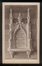 1865 CDV Memorial Rev John N Campbell Pastor 1st Presbyterian Church Albany