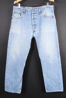 Vintage LEVI'S 501 XX Button Fly Denim Jeans USA Mens Size 38x33 Actual (36x31)