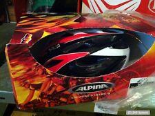 Alpina MTB Helm MTB D-Alto red / black / white Größe: 52-57 cm, rot-schwarz-weiß
